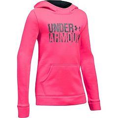 Girls 7-16 Under Armour Favorite Fleece Wordmark Hoodie