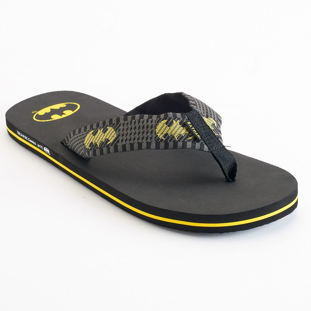 Men's DC Comics Batman Flip-Flops