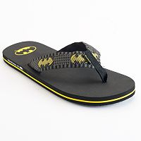 Men's DC Comics Batman Flip-Flops