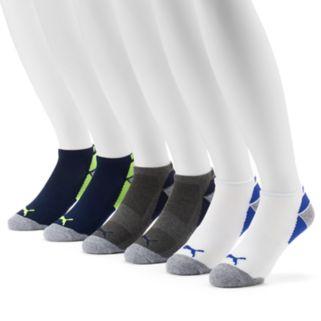 Men's PUMA 6-pack Coolcell Performance Low-Cut Socks