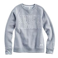 Girls 7-16 Under Armour Favorite Fleece Crew Pullover
