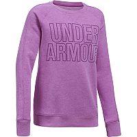 Girls 7-16 Under Armour Favorite Fleece Crew Pullover