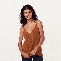 Women's LC Lauren Conrad Sweater Cami