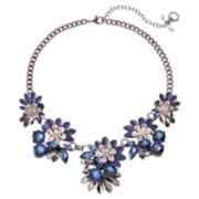 Simply Vera Vera Wang Blue Flower Statement Necklace