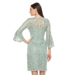 Women's Onyx Nite Embellished Lace Sheath Dress