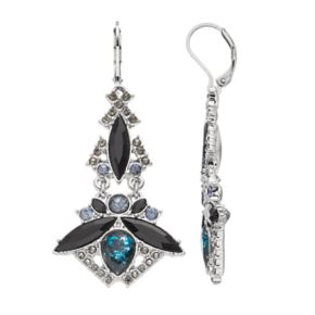 Simply Vera Vera Wang Stone Cluster Nickel Free Chandelier Earrings
