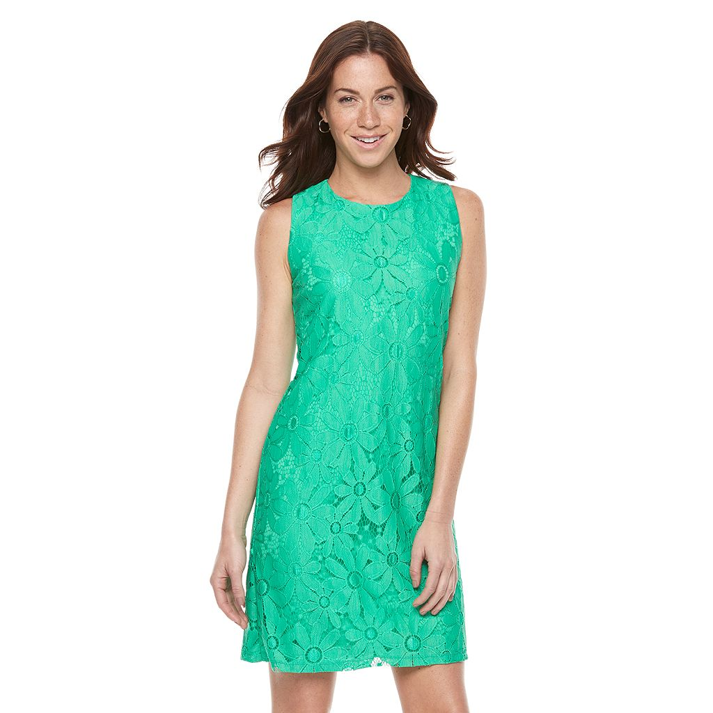 Women's Ronni Nicole Daisy Lace Shift Dress