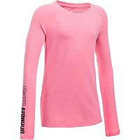Girls 7-16 Under Armour Favorite Knit Long Sleeve Tee