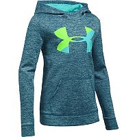 Girls 7-16 Under Armour Novelty Big Logo Hoodie