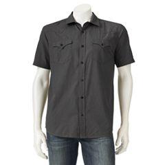 Men's Levi's® Solid Button-Down Shirt