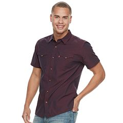 Men's Levi's® Solid Button-Down Shirt