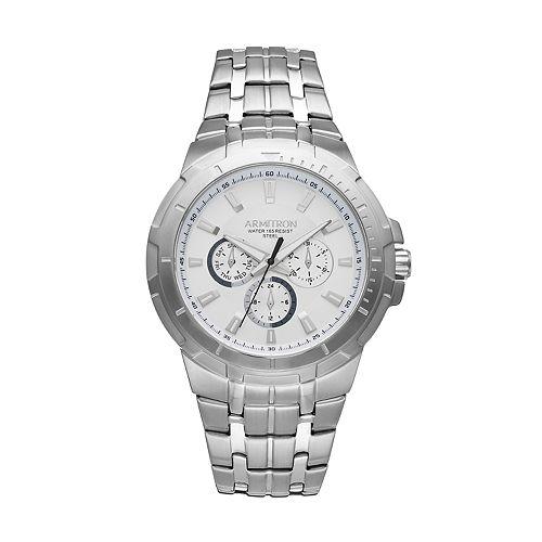 Armitron Men's Stainless Steel Watch - 20/5144SVSV