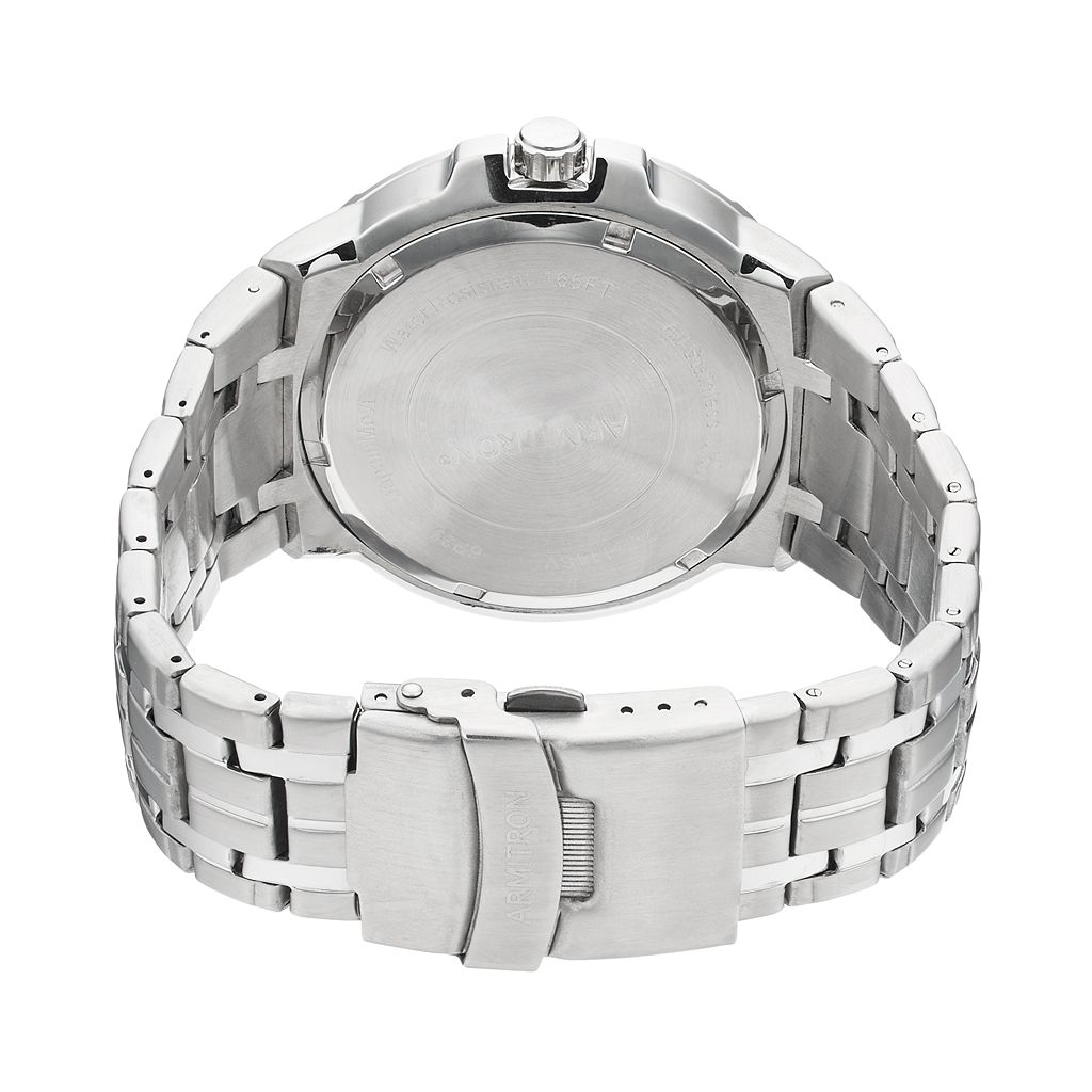 Armitron Men's Stainless Steel Watch - 20/5144SVSV