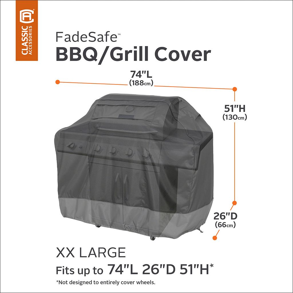 Veranda XX-Large Patio Grill Cover