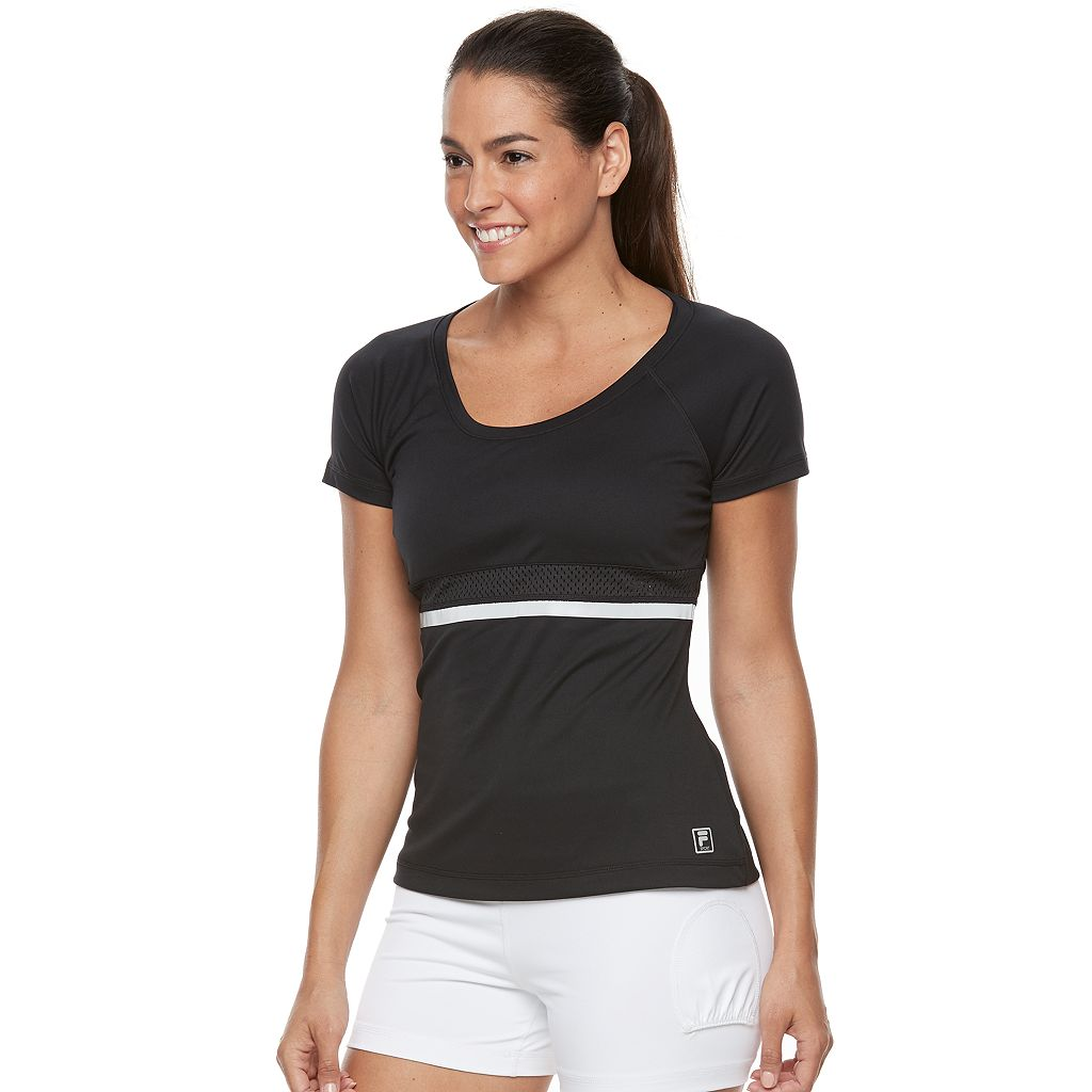 Women's FILA SPORT® Vented Reflective Performance Tee