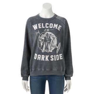 "Juniors' Star Wars ""Dark Side"" Graphic Sweatshirt"