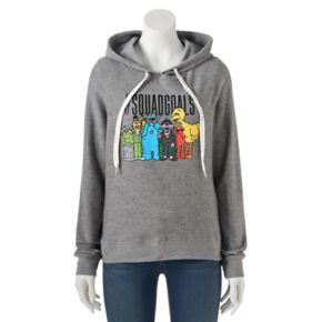"Juniors' Sesame Street ""Squad Goals"" Graphic Hoodie"