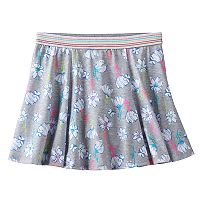 Girls 7-16 & Plus Size SO® Shiny Patterned Skater Skort