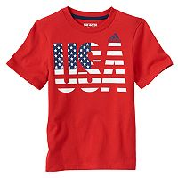 Boys 4-7x adidas USA Graphic Tee