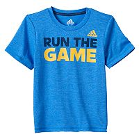 Boys 4-7x adidas Short Sleeve Slubbed Graphic Tee