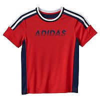 Boys 4-7x adidas Gradient Logo Performance Tee