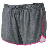 Juniors' Plus Size SO® Soft Running Shortie Shorts