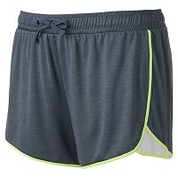 Juniors' Plus Size SO® Running Shortie Shorts