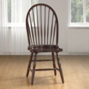 Windsor Round Slat Back Dining Chair