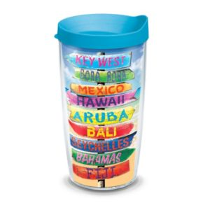 Tervis Tropical Destination Signs Tumbler