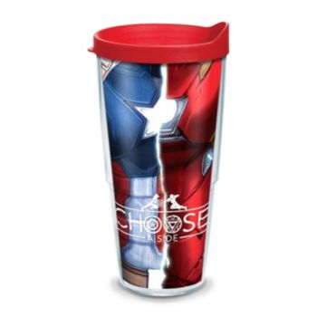 """Marvel Captain America """"Choose a Side"""" Tumbler by Tervis"""