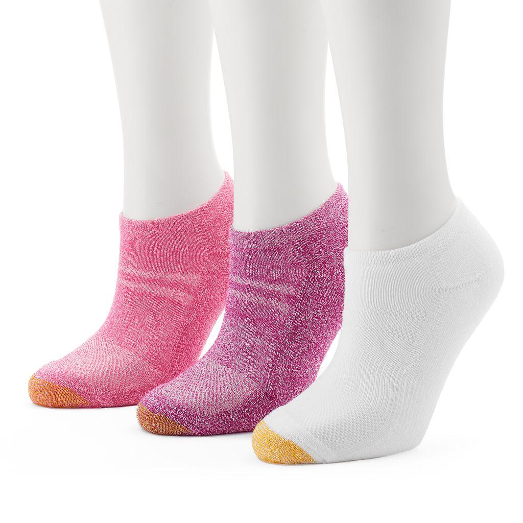 Women's GOLDTOE 3-pk. No-Show Socks