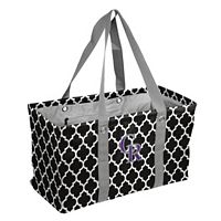 Logo Brand Colorado Rockies Quatrefoil Picnic Caddy