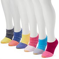 Women's GOLDTOE 6-pk. Jersey No Show Socks