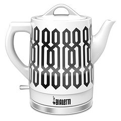 Bialetti 1.5-Liter Cordless Ceramic Kettle