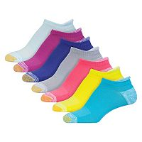 Women's GOLDTOE 6-pk. Vacation Cushioned Tab Liner Socks + Plus Bonus Pair