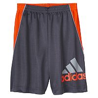 Boys 4-7x adidas Color-Blocked Logo Athletic Shorts