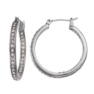 Simply Vera Vera Wang Nickel Free Inside Out Hoop Earrings