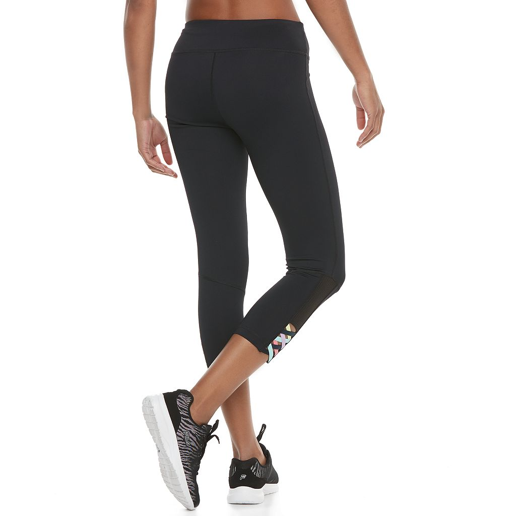 Women's FILA SPORT® Cross Hem Capri Leggings