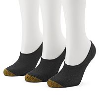 Women's GOLDTOE 3-pk. Mesh Invisible Liner Socks