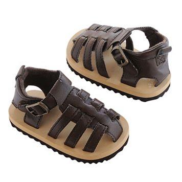 Newborn Baby Boy Carter's Fisherman Sandal Crib Shoes