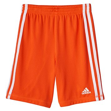 Boys 4-7x adidas Solid Mesh Athletic Shorts