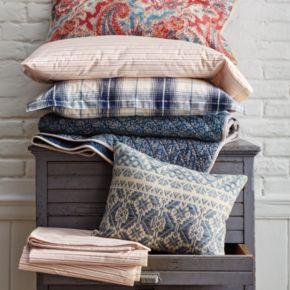Chaps Wilmington Island Rug Throw Pillow
