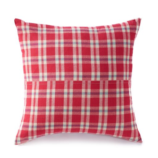 Chaps Wilmington Island Gingham Throw Pillow