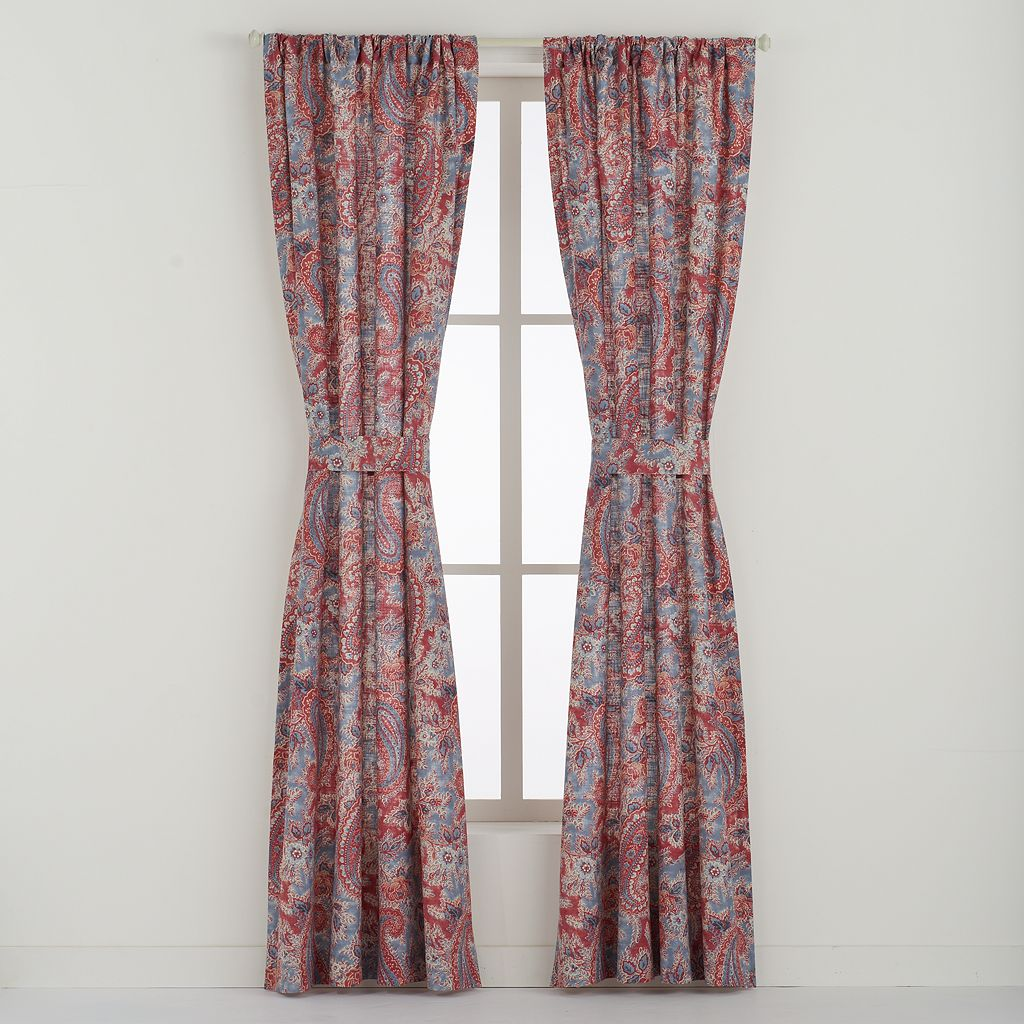 Chaps 2-pack Wilmington Island Curtain