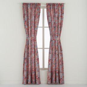 Chaps 2-pack Wilmington Island Window Curtain