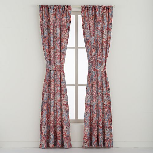 Chaps 2-pack Wilmington Island Window Curtain