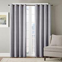 Madison Park Hayden Chevron Jacquard Window Curtain