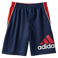 Toddler Boy adidas Color-Blocked Logo Athletic Shorts
