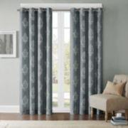 Madison Park Kensington Damask Printed Window Curtain