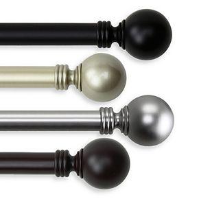 Rod Desyne Globe Adjustable Curtain Rod